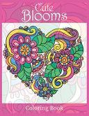Cute Blooms Coloring Book PDF