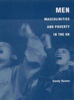 Men  Masculinities and Poverty in the UK PDF