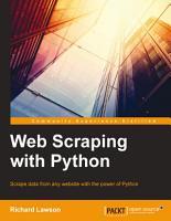 Web Scraping with Python PDF