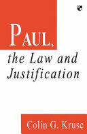 Paul  the Law and Justification PDF