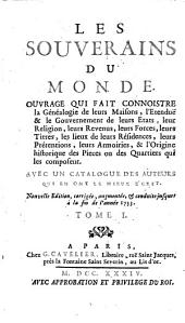 Les Souverains du monde. Nouv. ed: Volume1