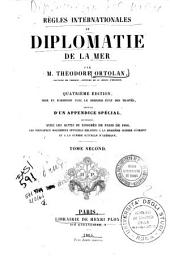Règles internationales et diplomatie de la mer: Volume 2