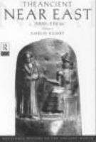 The Ancient Near East  C  3000 330 BC PDF