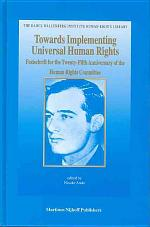 Towards Implementing Universal Human Rights