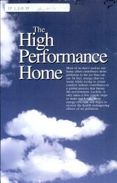 The high performance home