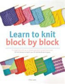 Learn to Knit Block by Block Book
