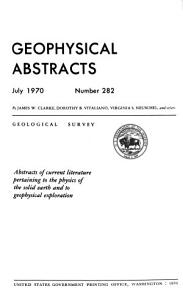 Geophysical Abstracts PDF