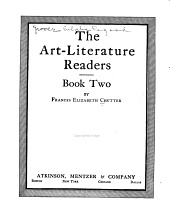 The Art-literature Readers: A primer, [Book one-], Book 2