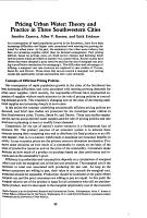 Pricing Urban Water PDF