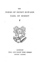 The poems of Henry Howard, earl of Surrey [ed. by sir N.H. Nicolas].
