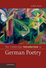 The Cambridge Introduction to German Poetry PDF