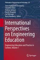 International Perspectives on Engineering Education PDF