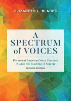 A Spectrum of Voices PDF