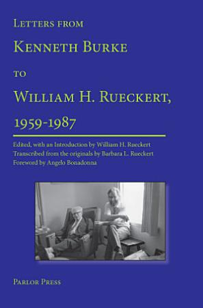 Letters from Kenneth Burke to William H  Rueckert  1959 1987 PDF