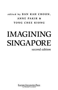 Imagining Singapore PDF