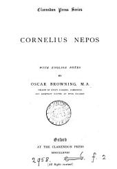Cornelius Nepos, with Engl. notes by O. Browning