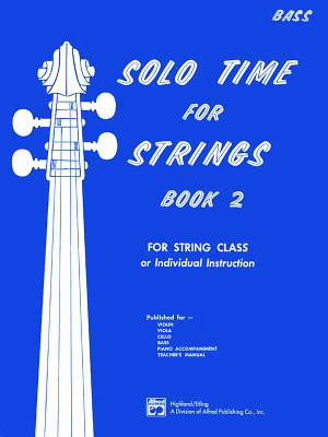 Solo Time for Strings  Book 2 PDF