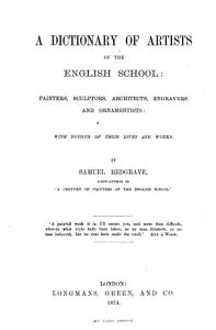 A Dictionary of Artists of the English School PDF