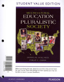 Multicultural Education in a Pluralistic Society  Student Value Edition