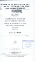The Refuse of the Federal Spending Binge II PDF