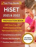 HiSET 2021 and 2022 Preparation Book