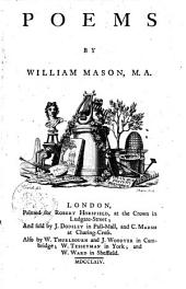 Poems by William Mason, M.A