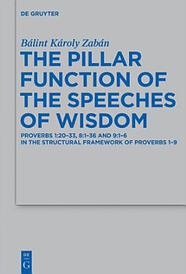 The Pillar Function of the Speeches of Wisdom PDF