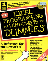 Excel Programming for Windows 95 for Dummies PDF