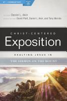 Exalting Jesus in the Sermon on the Mount PDF