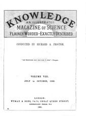 Knowledge...: A Monthly Record of Science, Volume 8