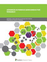 Advances in Porous Semiconductor Research PDF