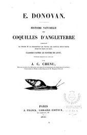 E. Donovan:Histoire naturelle des Coquilles D'angleterre