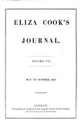 Eliza Cook's Journal: Volume 7