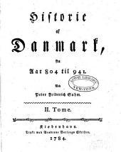 Historie af Danmark: t. 804 til 941