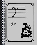 REAL BOOK  THE  V 1   BASS CLEF EDITION Book