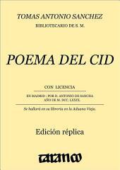 Poema del Cid: Edición réplica