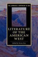 The Cambridge Companion to Literature of the American West PDF