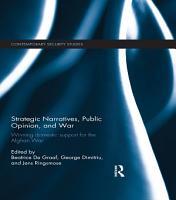 Strategic Narratives  Public Opinion and War PDF