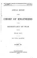 Annual Report of the Chief of Engineers to the Secretary of War for the Year     PDF