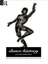 Dance History: An Introduction, Edition 2