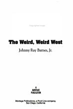 The Weird  Weird West PDF
