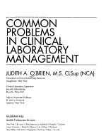 Common Problems in Clinical Laboratory Management PDF