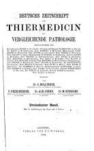 Deutsche Zeitschrift f  r Tiermedicin und vergleichende Pathologie PDF