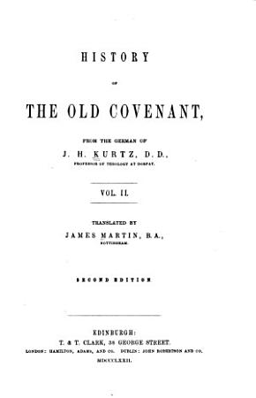 History of the Old Covenant PDF