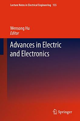 Advances in Electric and Electronics PDF