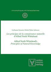 Les principes de la connaissance naturelle d'Alfred North Whitehead