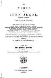 The Works of John Jewel: Volume 2