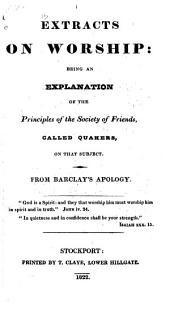Extracts from R. Barclay's Proposition Concerning the Scriptures