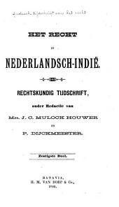 Indisch tijdschrift van het recht: orgaan der Nederlandsch-Indische juristen-vereeniging, Deel 60