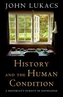History and the Human Condition PDF